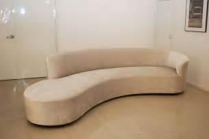 sofas sofa classic design vladimir kagan inspired curved sofa