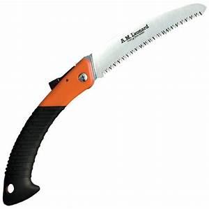 Leonard Tri-Edge Folding Pruning Saw, 7-inch Curved Blade ...