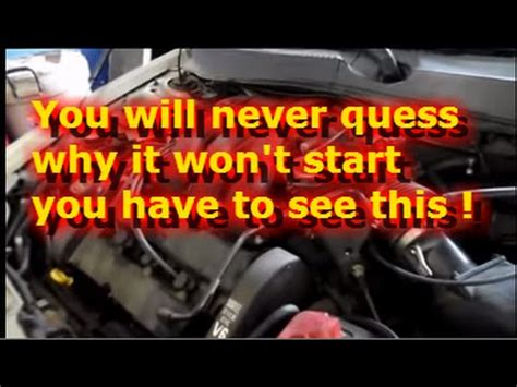 Boat Engine Turns But Wont Start by Car Engine Wont Start Gas Car Free Engine Image For