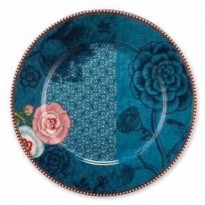 Pip Studio Teller : pip studio porzellan teller spring to life blue 21cm online kaufen emil paula ~ Orissabook.com Haus und Dekorationen