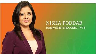 Cnbc Tv18 Nisha Anchor Poddar 2008 Team