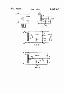 Patent Us4465962 Permanent Split Capacitor Single Phase