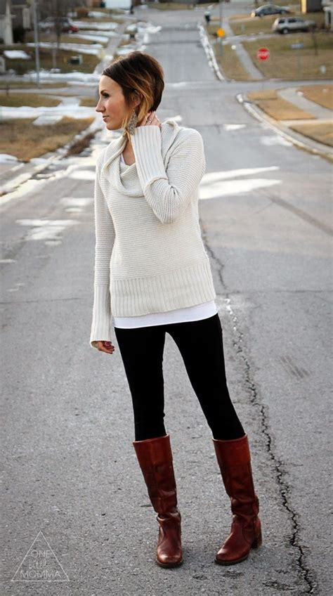 368 best LEGGINGS AND BOOTS images on Pinterest | Fall winter outfits Winter style and Fall ...
