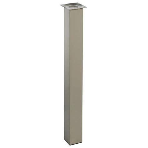 pied de table cuisine piétement pour table de cuisine hauteur 90 cm 4 pieds