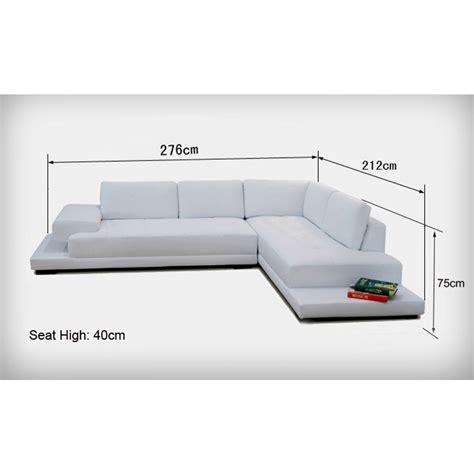 Canapé D 39 Angle En Dimensions Canape 2 Places Maison Design Modanes Com