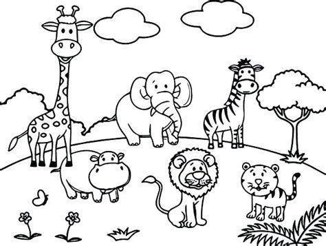 coloring pages animals printable seophpdirectoryinfo