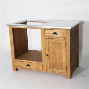 meuble de cuisine en bois pour four et plaques cagne made in meubles
