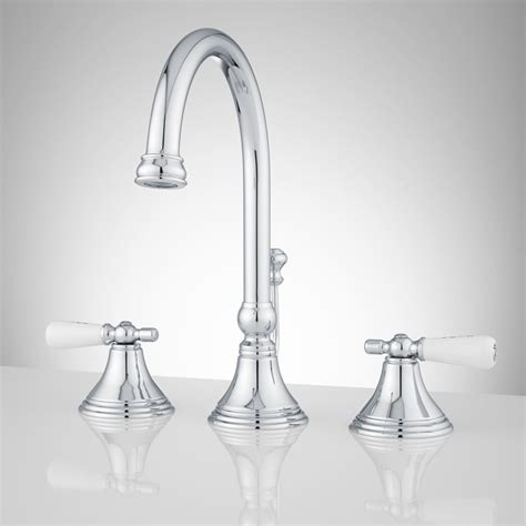 Widespread Bathroom Faucets  Signature Hardware