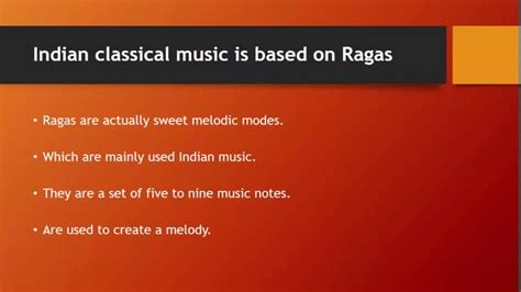 Important Facts About Indian Classical Music