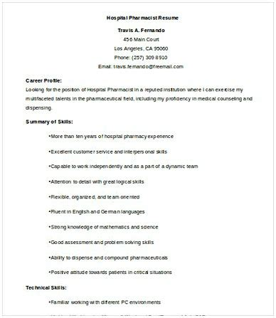 Staff Pharmacist Resume by Pharmacy Manager Resume