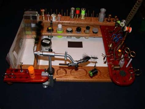 woodwork portable fly tying bench plans pdf plans