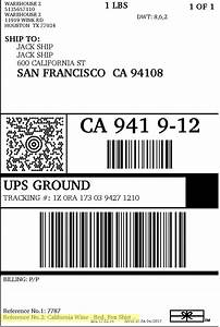 How to customize ups domestic shipping labels for How to purchase a shipping label
