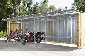 Cabane A Velo : abri v los garage v los abri range v los mottez industrie ~ Carolinahurricanesstore.com Idées de Décoration
