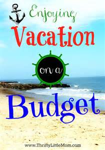 Printable Vacation Budget Planner