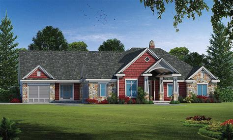 Multi-generational Ranch Home Plan