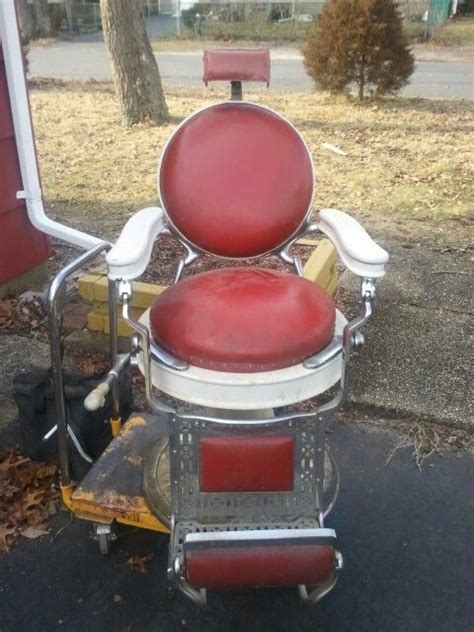 koch barber chair restoration pin by custom barber chair restoration on antique barber
