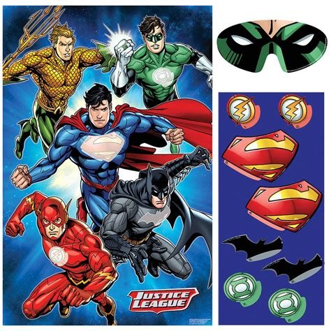 Justice League Party Game Birthdayexpresscom