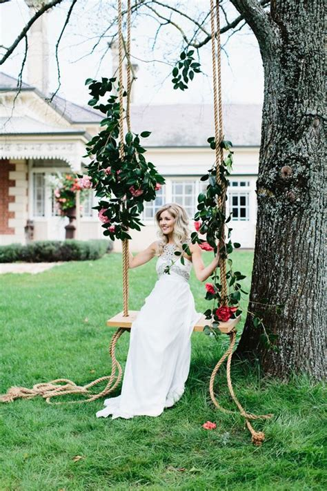 30 Wedding Reception Décor Swing Ideas Deer Pearl