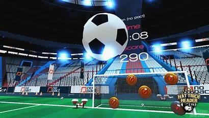 Soccer Virtual Games Reality Vr Headmaster Showgamer