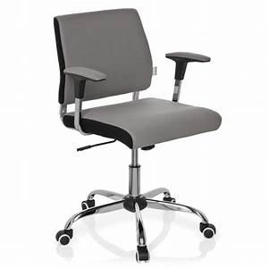 Chaise But Grise : chaise de bureau grise ~ Teatrodelosmanantiales.com Idées de Décoration