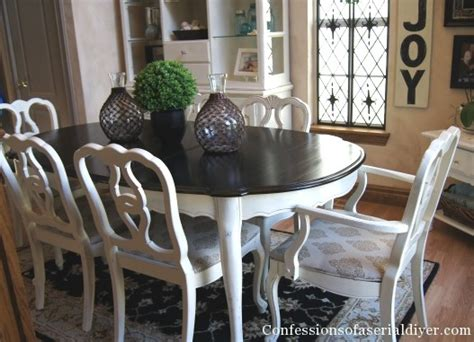 dining table makeover take one confessions of a serial