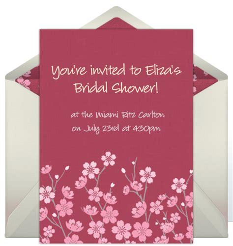 invitations  bridal showers