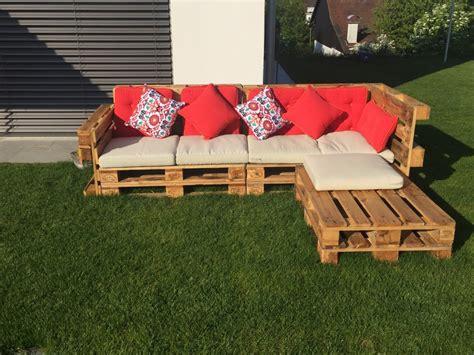 Garten Lounge Paletten by Gartenlounge Aus Paletten Selber Bauen Heimwerkerking