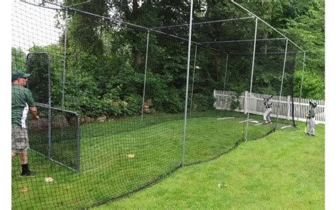 Batting Cage Backyard by 21 Backyard Batting Cage Batting Cages