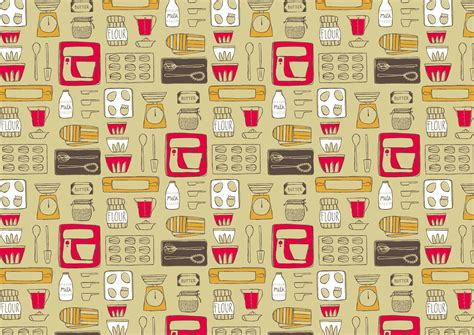 kitchen patterns and designs vintage kitchen wallpaper 21 designs enhancedhomes org 5502