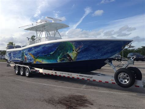 Solid Color Boat Wraps by Vinyl Wrapping For Boat The Hull Boating And