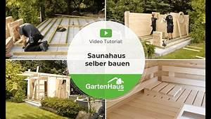 Sauna Im Garten Selber Bauen : saunahaus selber bauen anleitung f r sauna bauen im garten youtube ~ A.2002-acura-tl-radio.info Haus und Dekorationen
