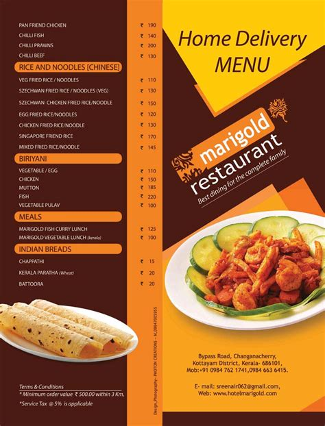 joseph cuisine design special menu cards manufacturer in kottayam kerala india