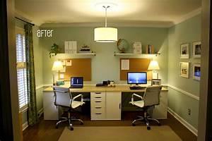 Best, 25, Double, Desk, Office, Ideas, On, Pinterest