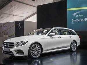 Mercedes Classe C Blanche : mercedes classe e break 2016 nos premi res impressions l 39 argus ~ Gottalentnigeria.com Avis de Voitures
