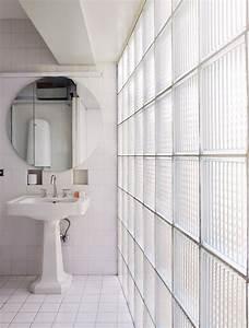 Mur En Brique De Verre Salle De Bain : les 25 meilleures id es concernant salle de bains brique ~ Dailycaller-alerts.com Idées de Décoration