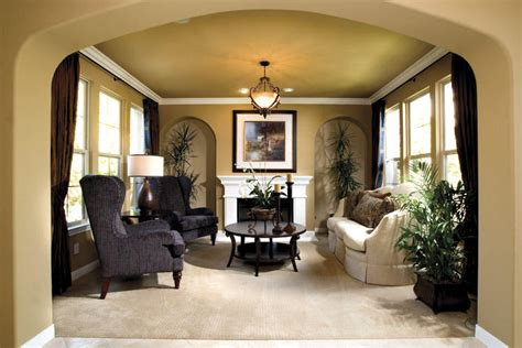 Warm Formal Atmosphere Living Room Ideas Homeideasblogcom