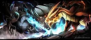 Mega Charizard X and Y