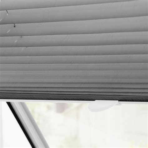 plissee rollo dachfenster dachfenster plissee haftfix ohne bohren rollo velux sonnenschutz ebay