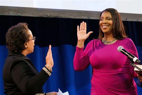 letitia james  states  black attorney general