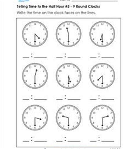 1st grade telling time worksheets a wellspring of worksheets