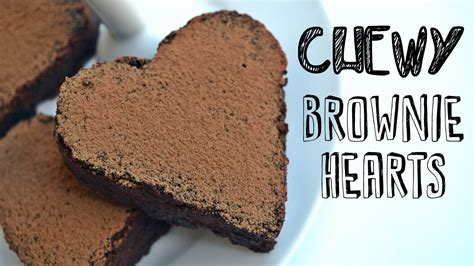healthy vegan desserts easy chewy chocolate brownie hearts recipe easy healthy vegan dessert