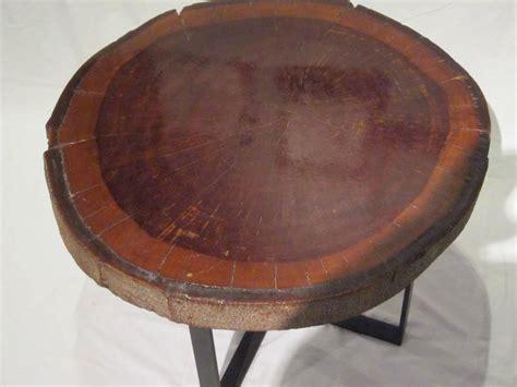 wood slice coffee table 1940s wood slice coffee table at 1stdibs