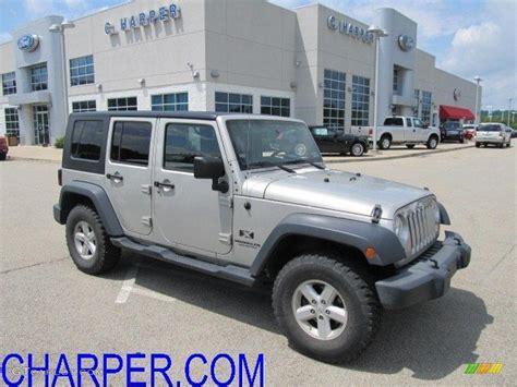 jeep wrangler light grey 2007 light graystone pearl jeep wrangler unlimited x 4x4