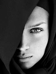 Beautiful Faces Black and White Portrait