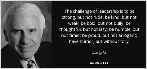 jim rohn quote  challenge  leadership