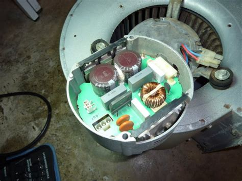 air conditioner fan not spinning hvac blower motor hums