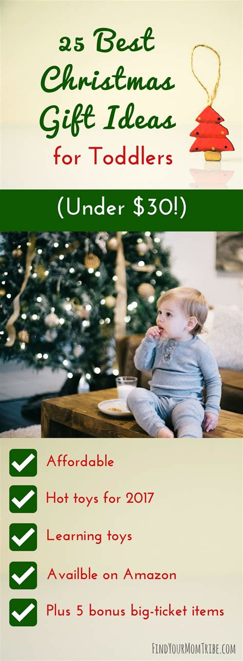 25 Best Christmas Gift Ideas For Toddlers (under $30)  Find Your Mom Tribe