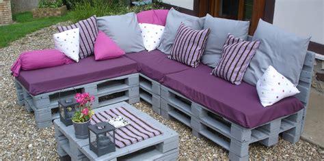 hacer sofa terraza como hacer sofa de palets para el jard 237 n o terraza