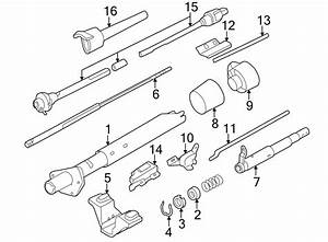 Chevrolet S10 Steering Column Tube  Trans  Tilt  Manual
