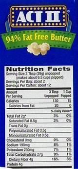 recipe: gourmet microwave popcorn light butter calories [14]
